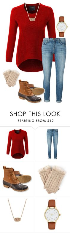 """""""The level of pettiness some people on here have is downright hilarious 😂"""" by ivoryvixen ❤ liked on Polyvore featuring LE3NO, Current/Elliott, L.L.Bean, Journee Collection, Kendra Scott and Kate Spade"""
