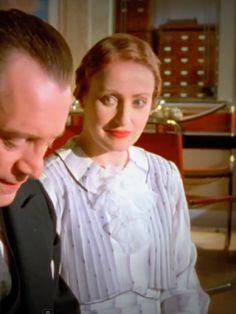 """Miss Lemon in a pastel dress """"The Italian Gentleman"""""""