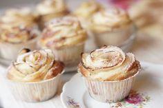 Ruusupulla on juhlapöydän kaunein leivonnainen