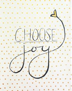 Choose Joy hand painted sign by PaintedHappinessShop on Etsy, $12.00
