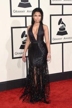 Nicki Minaj, in Tom Ford. The 2015 Grammy Awards - Gallery - Style.com