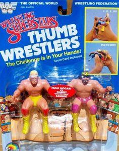 Retro Toys, Vintage Toys, Wwf Toys, Old School Toys, Wrestling Superstars, Hulk Hogan, Creative Food, Cool Toys, Techno