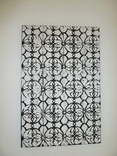 tela PB em pintura acrilica 2011- 40x60 -  acrylic on canvas - Melina Ollandezos