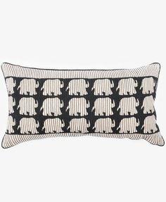 ELEPHANT STITCHES PILLOW