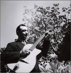 A Django Reinhardt pic I have not seen often!