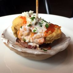 B&B Butchers Carpet Bagger Oyster - from Culture Map's Where to Eat this June (2015)