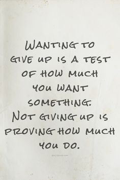 don't give up, you've got this!