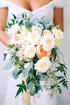 18 Green Wedding Florals To Add Naturalness To Your Wedding ❤️ See more: http://www.weddingforward.com/green-wedding-florals/ #wedding #bouquets #weddingdecoration