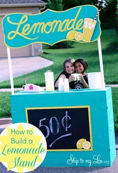6 DIY lemonade stands you'll love. - Mod Podge Rocks