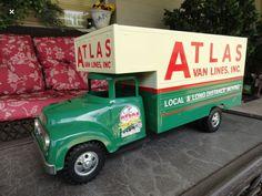 Custom 50s Tonka Van Truck