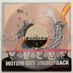Motion City Soundtrack - Commit This To Memory Vinyl - clear LP — available now in the SoldOutVinyl.com store!