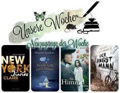 Leserattes Bücherwelt: [Unsere Woche ♥] #Neuzugänge #News #Leserattengetu...
