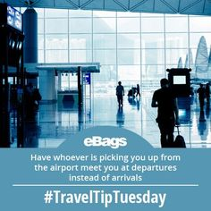 Why? Pick up at arrivals is where a lot of traffic jams happen. Out-smart everyone by picking up your traveler at the less-busy departures terminal! You will get in and out without hassle!