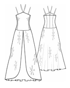 example - #5597 Dress With Layered Skirt This is a free sewing pattern website