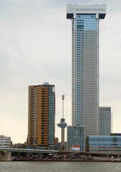Rotterdam, Netherlands, Skyscraper, City, Building, Beautiful, The Nederlands, The Netherlands, Skyscrapers