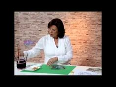 Esmaltes Acrílicos al Agua sobre vidrio - Silvana Mendoza en Bienvenidas Tv