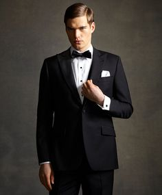 It doesn't get much classier than a tux...