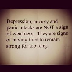 This quote gets to me and I have depression and suffer from anxiety and I learned to accept my things about me and knowing I will have it for the rest of my life and your not always going to be able to control your actions and its okay just realize your not alone and you'll be okay and you can still live a life however you want even with these demons you have it will be okay darling