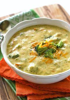 Peynirli Brokoli Çorbası