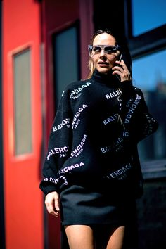 Maria Hatzistefanis - Street Style - Mrs Rodial - Balenciaga - Fashion #jadealyciainc www.jadealycia.com