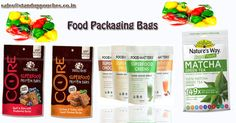 We offer a variety of bag styles such as #standuppouches, #pillowbags, #spoutpouches, #threesides #sealedpouches and #flatbottombags for #foodpackaging.