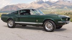 "1967 Shelby GT500, built 427 2x4v Side-Oiler V8/T10 4speed/3.50 9"" Traction-Lok Axle"
