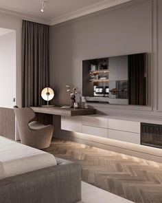 ✔ 60 warm and cozy master bedroom decorating ideas that you need to copy right. - ✔ 60 warm and cozy master bedroom decorating ideas that you need to copy right now 39 - - Interior Design, House Interior, Home, Home Bedroom, Tv In Bedroom, Luxury Bedroom Master, Modern Bedroom, Living Room Designs, Luxurious Bedrooms
