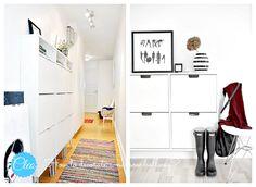 Jak udekorować wąski przedpokój/korytarz? - zdjęcie od cleo-inspire - Hol / Przedpokój - Styl Skandynawski - cleo-inspire