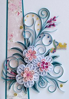 amazing quilling designs - Google Search