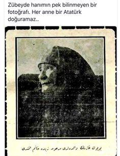 Zübeyde Hanımın pek bilinmeyen bir fotoğrafı  Atatürk
