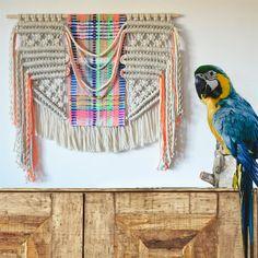 Contemporany Macrame / Wall Art / Wall hanging / Weaving / Ranran Design