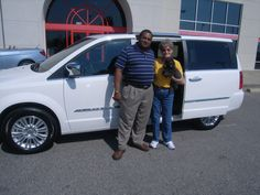 Wednesday September 26, Barbara from Lucama NC is returning to Cox Dodge to pick up her next Town and Country. Barbara we hope you enjoy your brand new 2012 Chrysler Town and Country for years to come. Thank you for your repeat business. Her salesman is Tony Oxendine.