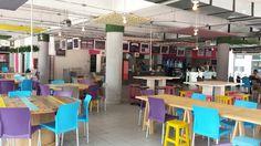 El Break UVM Zapopan. University food service Posted by architect