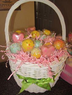 Cake Pop Easter Basket