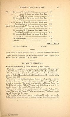 Biennial Report of the Superintendent of Public Instruction of North Carolina, for the Scholastic Years 1885 and 1886, Volume 1884-1886, Page 89 | Document Viewer