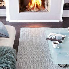 Diamond Cotton Rug - bedroom