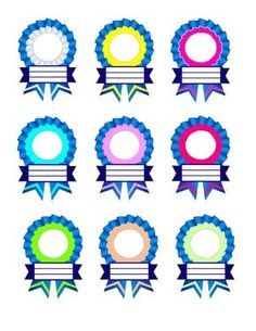 Ribbon Designs for Recognition Day Certificate Background, Kids Awards, Award Template, Certificate Design Template, School Frame, Award Certificates, Ribbon Design, School Decorations, Classroom Design