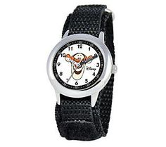Disney Tigger Stainless Steel Time Teacher Watch