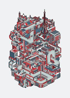 Ride & Explore - Four-color screen print by Adam Dedman (Yeovil, England). See Reddit post for great detail on his garage printing setup. http://www.reddit.com/r/printmaking/comments/1j0xlb/i_screen_print_in_my_garage_heres_my_latest_a/
