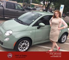 https://flic.kr/p/GyHJ7y   Congratulations Katherine on your #FIAT #500 from Jessica Rubio at FIAT of Dallas!   deliverymaxx.com/DealerReviews.aspx?DealerCode=F741