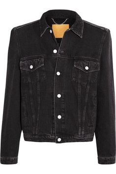 Balenciaga - Denim Jacket - Black - FR34