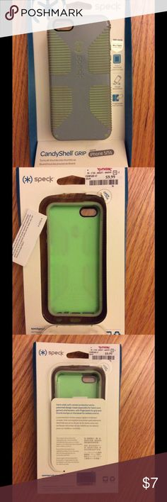 *SPECK* iPhone 5/5s case, rubber grip. Like new! *Speck* iPhone 5/5s case, rubber grip. Clean, some fade on rubber. Packaging included. Paid 9.99 + tax ... like new! Speck Accessories Phone Cases