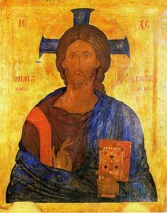 Christ Pantocrator, Catholic Art, Orthodox Icons, Fresco, Christianity, Religion, Drawings, Artwork, Painting