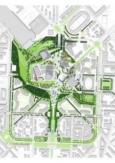CityLife Park - London - International Design Competition - Gustafson Porter