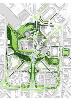 CityLife Park - London - International Design Competition - Gustafson Porter