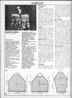 "Tween set ""Tricots subtils"" du n° 52"