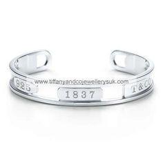 Tiffany And Co Bangle Half Open Silver 013