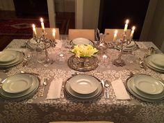 Mesa de jantar com Bordado Madeira #tablelinens #tablecloth #madeiraembroidery #handmade #bordal
