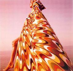 Marisa Berenson in Pucci - the 1960's.