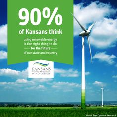 Renewable energy is the right thing to do for the future of our state and country.